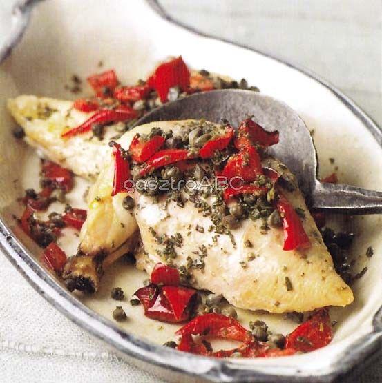 Mediterrán csirke | Receptek | gasztroABC