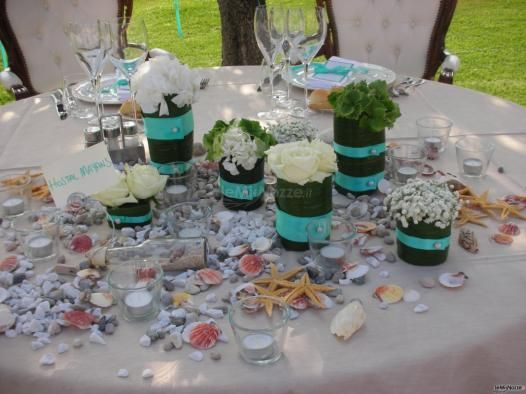 Particolari blu #tiffany per la tavola