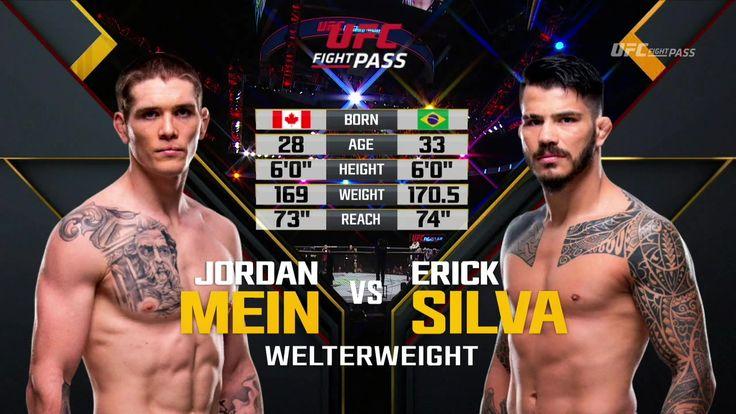 UFC on FOX 26: Джордан Мейн - Эрик Силва (Jordan Mein VS Erick Silva) http://www.yourussian.ru/190161/ufc-on-fox-26-джордан-мейн-эрик-силва-jordan-mein-vs-erick-silva/   UFC on FOX 26 смешанные единоборства - MMA полный бой без правил 16 декабря ноября 2017: Джордан Мейн - Эрик Силва (Jordan Mein VS. Erick Silva) смотреть онлайн 16.12.2017 в мужском полусреднем весе.
