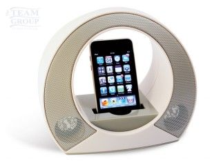 Parlantes MP3 Arch blanco