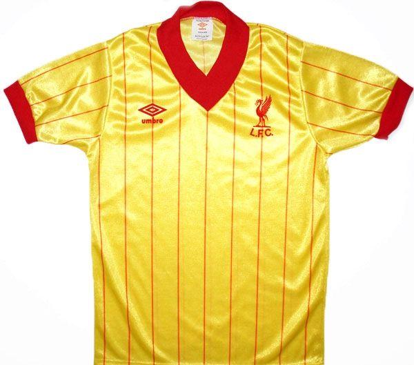 Retro Liverpool Shirts   Classic Football Shirts Collection