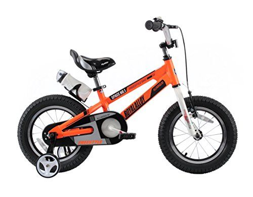 #BoysGifts RoyalBaby Space No. 1 Aluminum Kids Bikes, Boy's Bike and Girl's Bicycles, Gift for Kids, 16 inch wheels, Orange