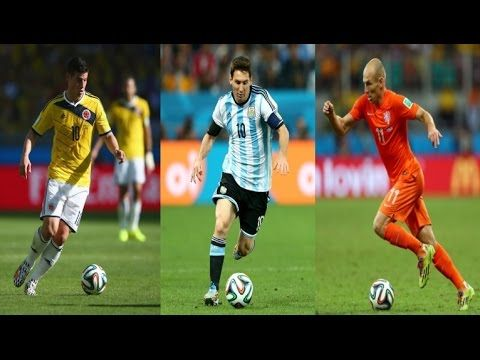 James ● Messi ● Robben ● Who Was The Best of World Cup 2014?