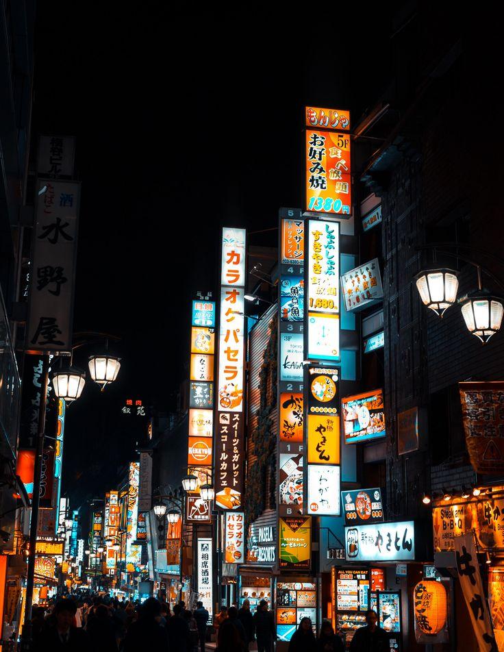 Orange & Blue Kabukicho