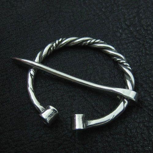 Silver fibula. Viking brooch. from The Sunken City by DaWanda.com