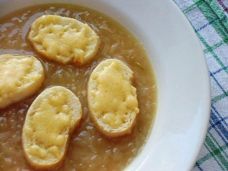 Zupa cebulowa z cydrem