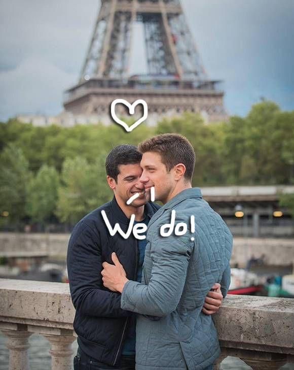 abc reporter gio benitez proposed to his boyfriend in the
