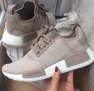 new arrival 60b53 990c6 Fashion discovery and shopping in one place at Wheretoget. adidas NMD R1  nude twitter.com .