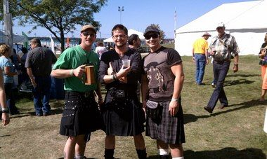 Kilts an expression of Celtic pride at Michigan Irish Music Festival