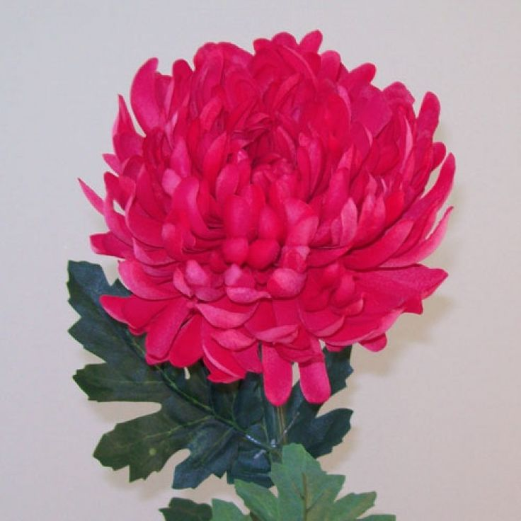 Artificial Bloom Chrysanthemum Cerise Pink - C179 D1