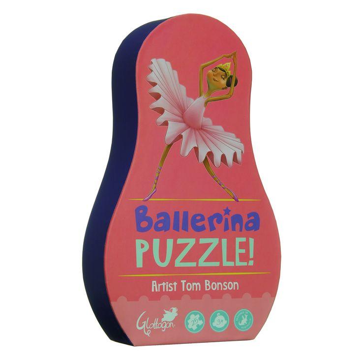 PUZLE ECOLÓGICO BAILARINA Divertido y colorido rompecabezas de 25 piezas procedentes directamente de Australia en un embalaje único e inusual. El diseño vibrante es firmado por un artista reconocido. Este puzzle con 40x30cm también es amigo del medio ambiente, ya que se realiza con cartón reciclado e impreso con pinturas ecológicas #Glottogon #puzzles #puzleecologico  http://www.babycaprichos.com/puzle-ecologico-bailarina.html