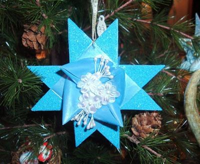 Новогодние украшения из «3D Star»,