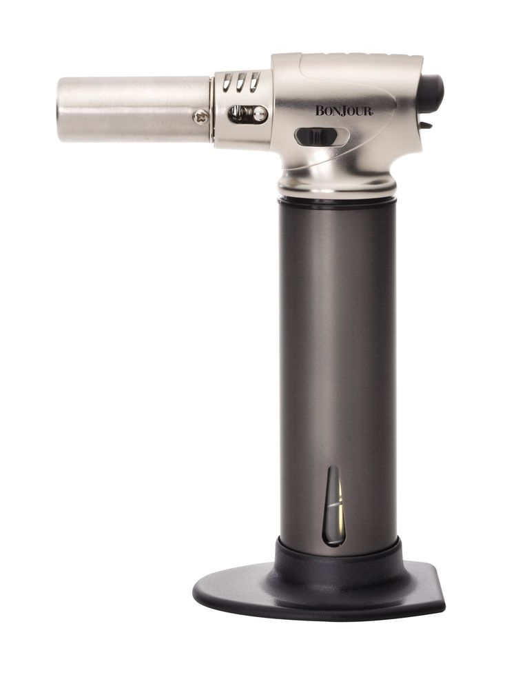 Superior Bonjour Professional Culinary Torch With Fuel Gauge By Bonjour