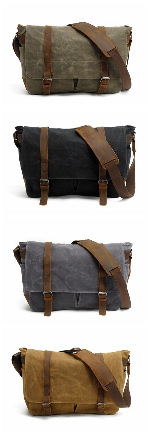 HIGH QUALITY CANVAS CAMERA BAG CROSS BODY MESSENGER CAMERA BAG GN-006
