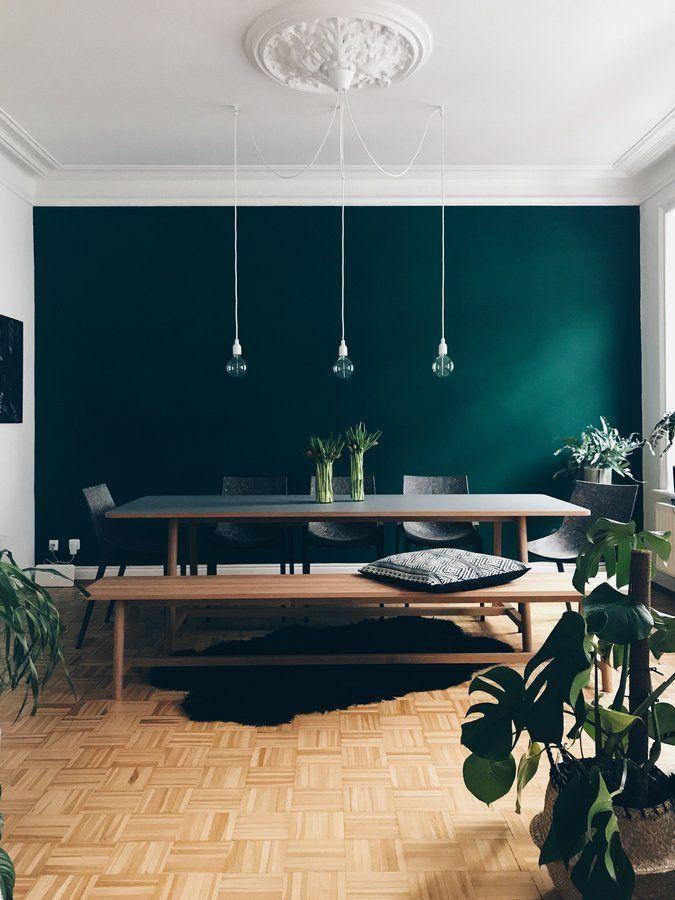 Fruhling Auf Dem Tisch Aber Draussen Schoner Wohnen Farbe Altbau Haus Interieurs