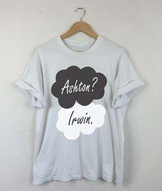 Okay Okay Ashton Irwin T-shirt, Ashton Irwin 2015, Ashton Irwin 5SOS, Ashton Irwin Quotes, Ashton Irwin Tattoo, Men and Women Shirt by RizalDesign on Etsy