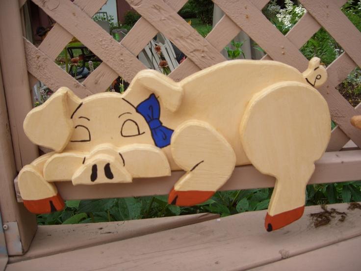 cochon au repos (pig at rest)