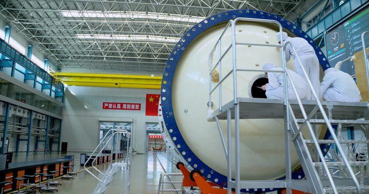 Tianjin Aerospace Long March rocket Manufacturing Facilities 中国航天长征火箭天津制造工厂 (2)