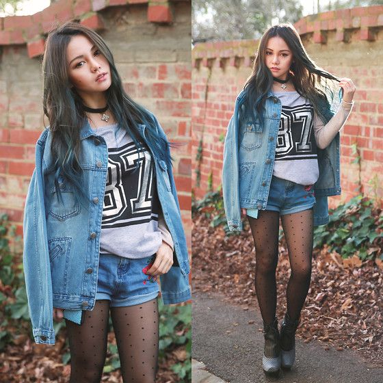 More looks by Chloe T: http://lb.nu/chloe_t  #casual #edgy #street