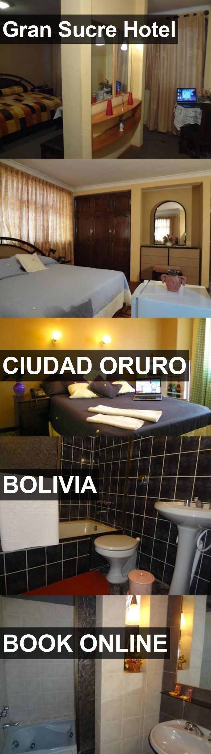 Gran Sucre Hotel in Ciudad Oruro, Bolivia. For more information, photos, reviews and best prices please follow the link. #Bolivia #CiudadOruro #travel #vacation #hotel
