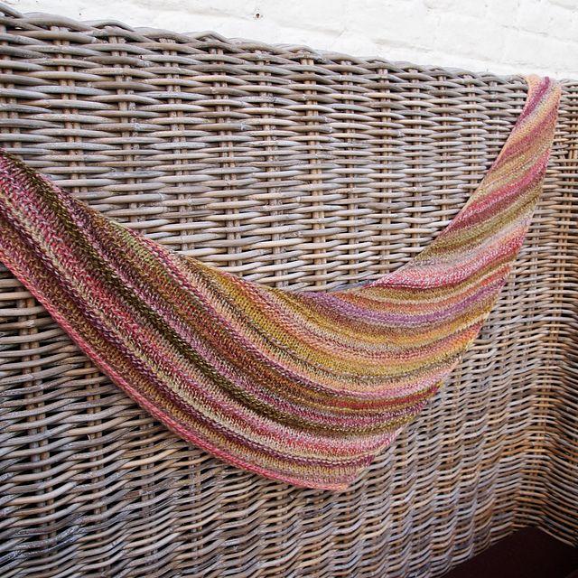 Quaker Yarn Stretcher Boomerang pattern by Susan Ashcroft Yarns, Ravelry an...