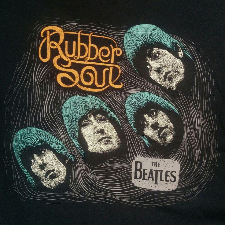 The beatles Rubber Soul sketch
