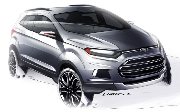 Ford EcoSport 2560 x 1600 wallpaper