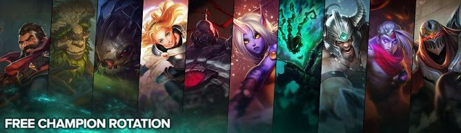 cool Free Champion Rotation, Week of April 11th