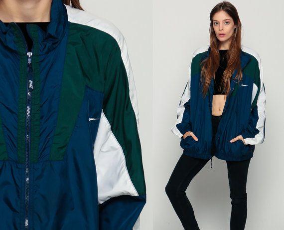 Nike Coupe-vent veste des années 80 en Nylon veste par ShopExile