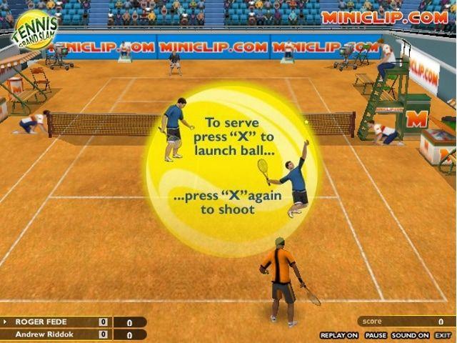 Best Free Browser Games Online Tennis Grand Slam.