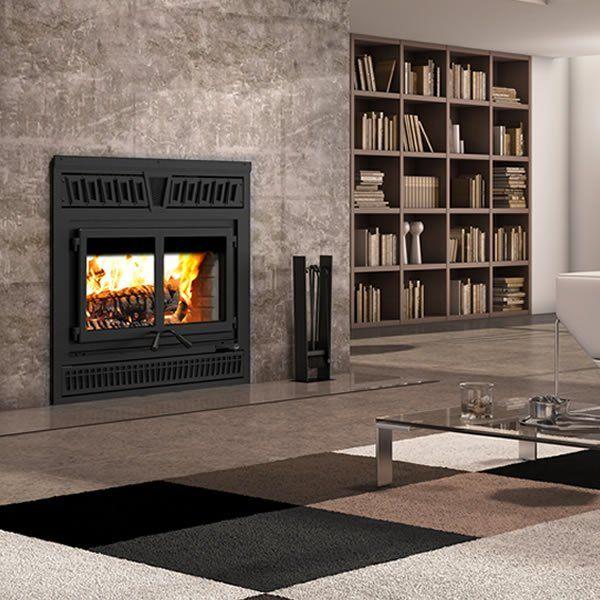 Valcourt Waterloo Wood Fireplace - Rectangular in 2020 ...