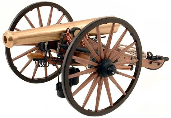 Guns Of History Napoleon Cannon 12lb 1:16 Scale Signature Series Model Kit