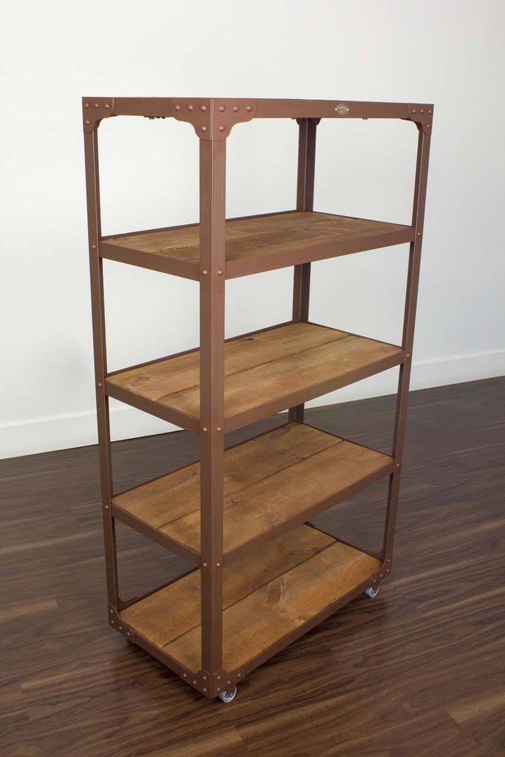 189 best Bookshelves images on Pinterest | Bookshelves, Industrial ...