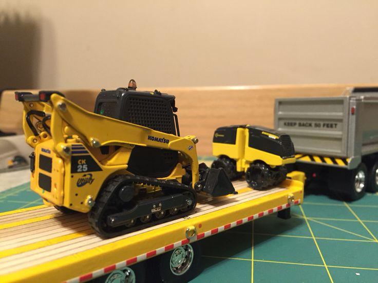 Metal Toy Tractors >> Komatsu Bomag   Diecast construction   Diecast models, Farm toys, Toys