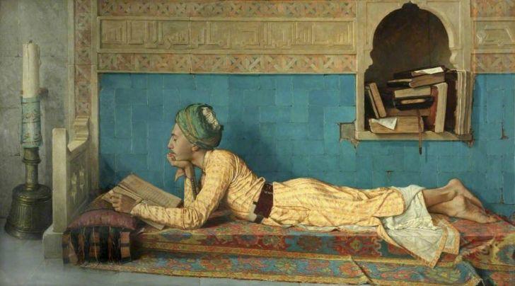 Kaplumbağa Terbiyecisi ile Tanınan Osman Hamdi Bey ve Tabloları www.leblebitozu.com728 × 404Buscar por imagen osman hamdi bey okuyan genç emir