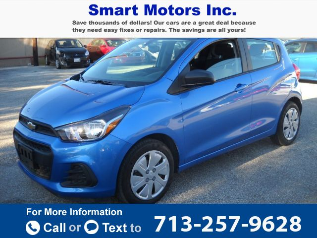 2016 *Chevrolet* *Chevy*  *SPARK* *LS*   4k miles $8,900 4965 miles 713-257-9628 Transmission: Automatic  #CHEVROLET #SPARK LS #used #cars #SmartMotors #Houston #TX #tapcars