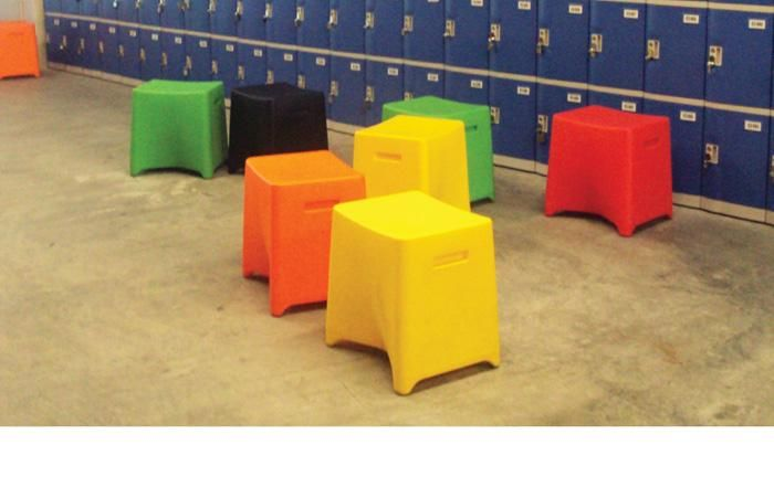 Rox | UCI Stool.  Recycled polyethylene. Suitable for indoor or outdoor use. Variety of colour options. uci.com.au