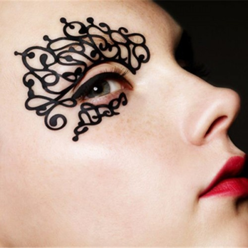 Face Lace Masks. Decorative, but nothing to hide...