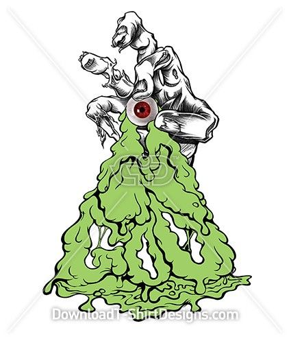 Oozing Goo Comic Eye Ball Zombie Hand Download This Design Print On Your T