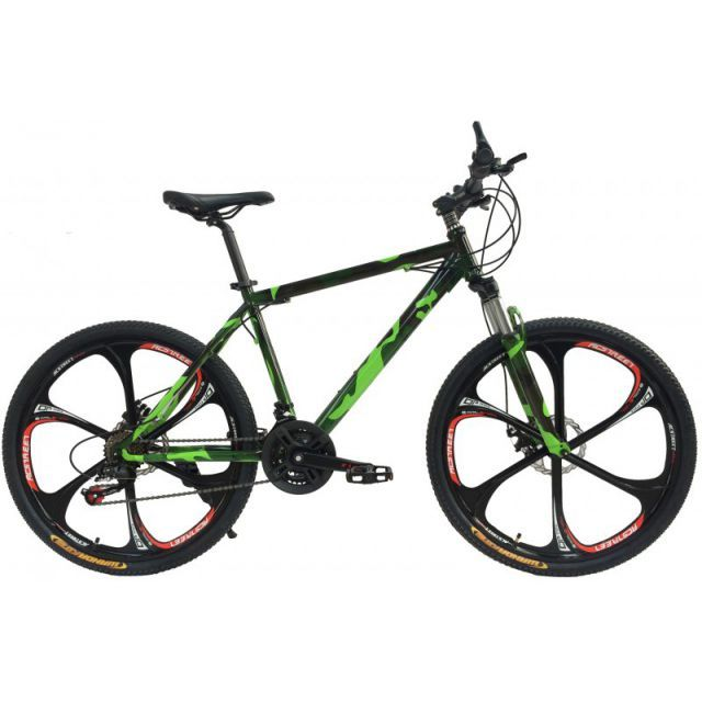 26 zoll mountainbike camouflage design mit mag wheels. Black Bedroom Furniture Sets. Home Design Ideas