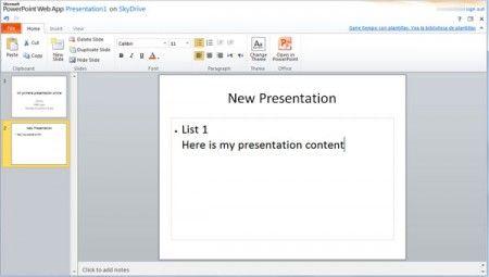 online powerpoint presentation maker