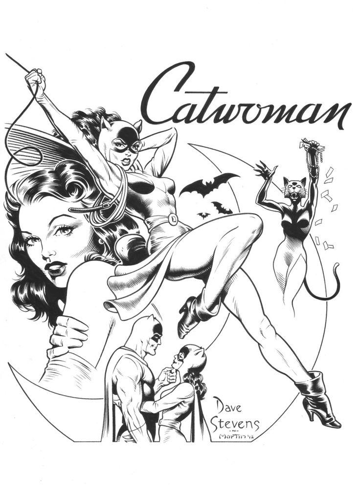 DAVE STEVENS Catwoman recreation by ~SKY-BOY on deviantART