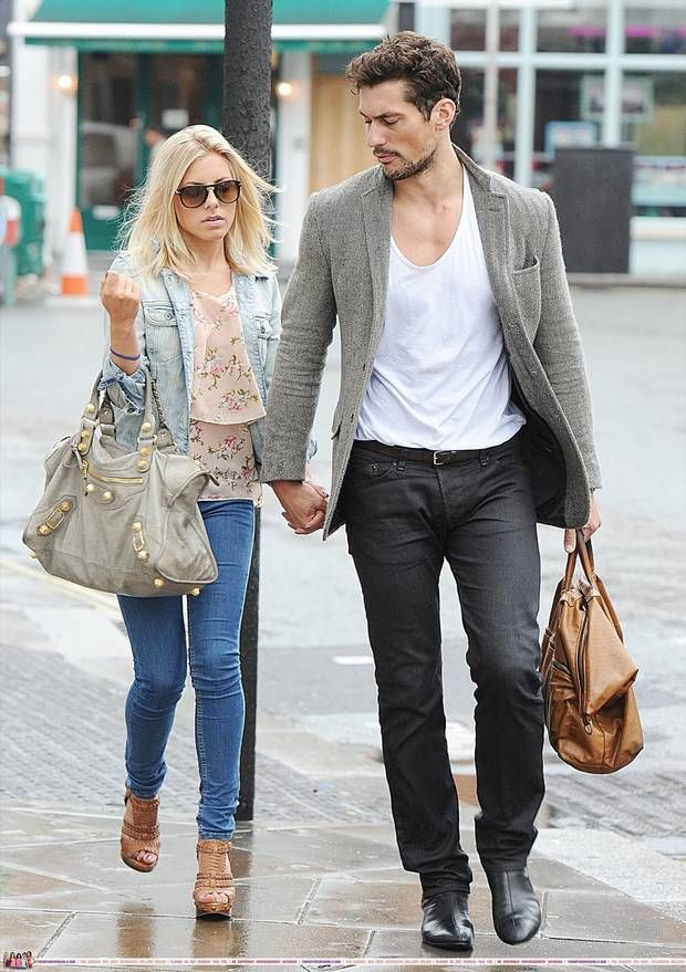 It's back on: David Gandy and Mollie King are an item again - Independent.ie. and she is blonde :D