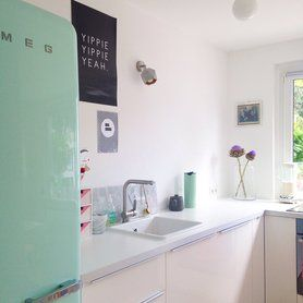 Außergewöhnlich Retro Kühlschrank In Mintgrün! Bringt Den Frischekick Für Die Küche