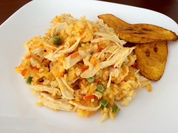 Receta de Arroz con pollo ecuatoriano