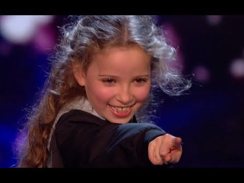 Little Magician Issy Blows Everyone Away With Her AMAZING Tricks | Semi Final 2 | BGT 2017 - YouTube