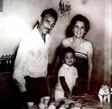 Helio Gracie, Margarita (2nd wife) and Rorion Gracie.