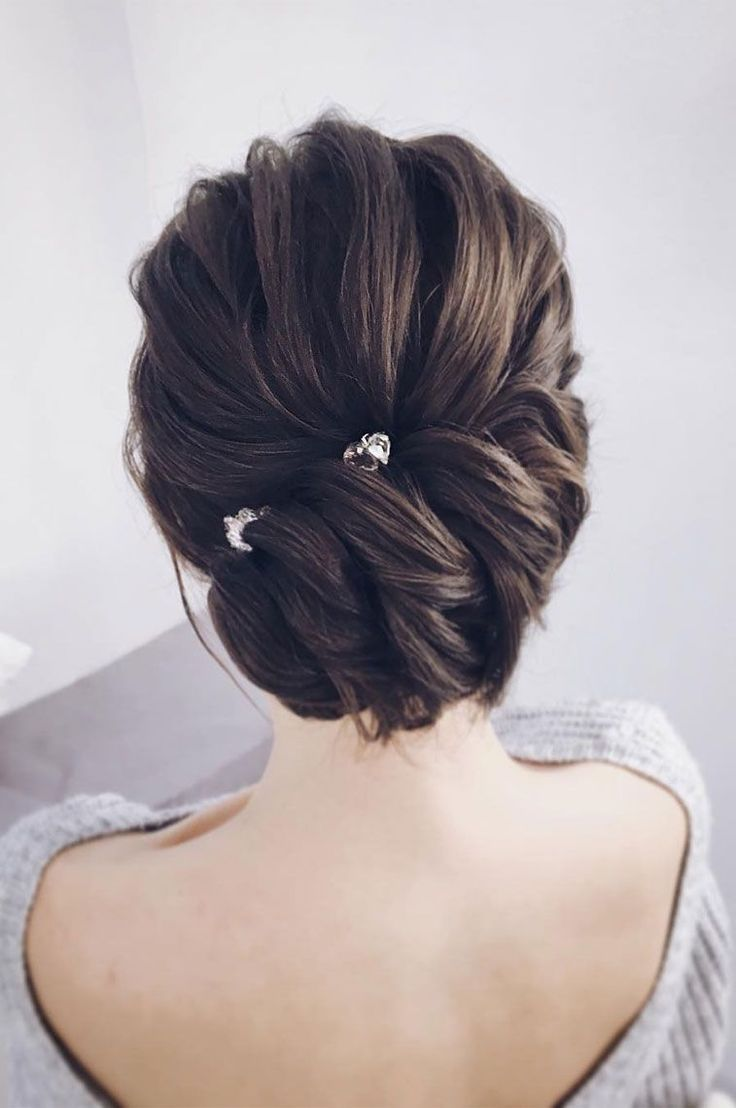 the most romantic bridal updos wedding hairstyles | winter