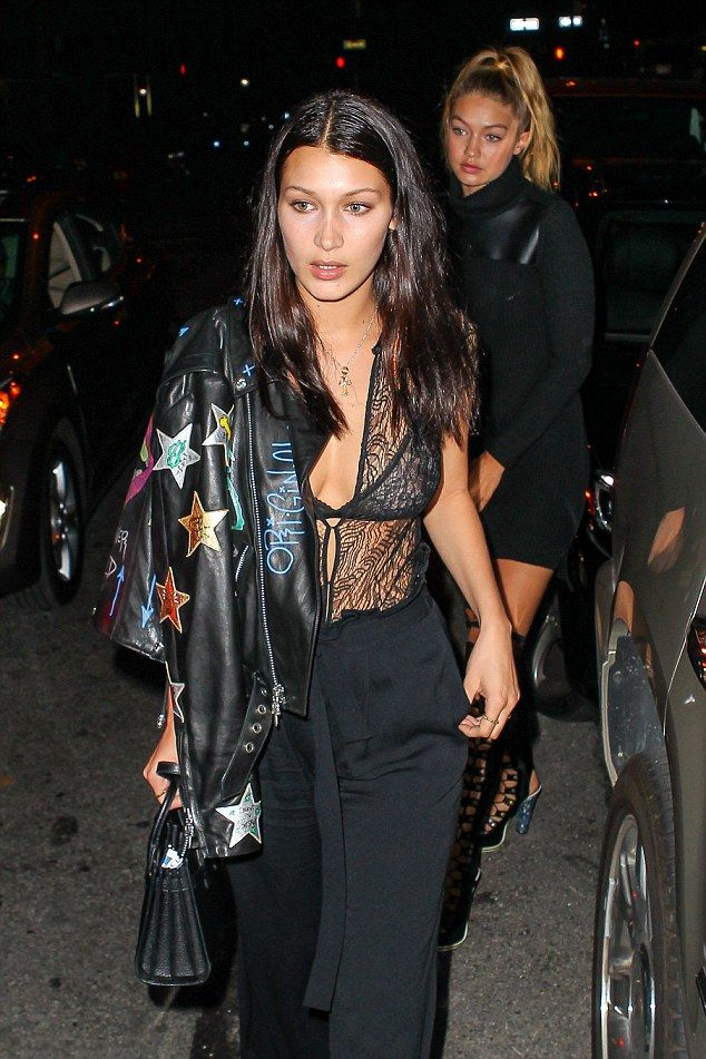 Hadid News || Your best and ultimate source for all things about the Hadid sisters  - September 14: Gigi Hadid and Bella Hadid spotted...