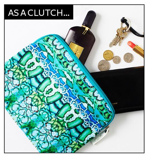 The InStyle team are using the InStyle x Camilla case as a chic clutch #InStylexCamilla